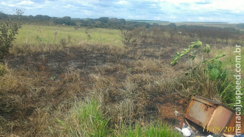 Polícia Militar Ambiental autua assentado por incêndio em vegetação causando riscos e transtornos à vizinhança