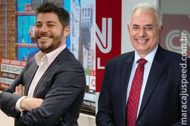 CNN Brasil surpreende e anuncia contratações de Evaristo Costa e William Waack