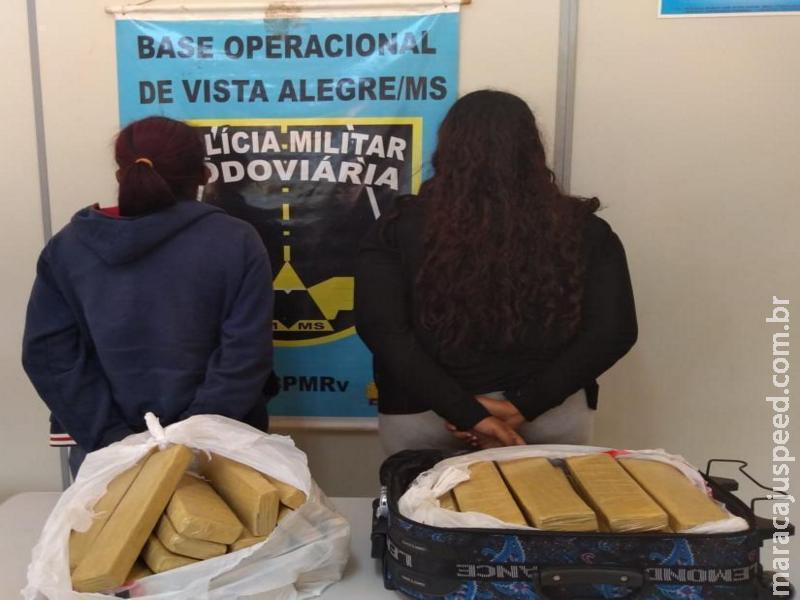 Maracaju: Dupla mineira de traficantes é presa pela Polícia Militar Rodoviária transportando 21,3 kg de maconha que seria vendida em MG