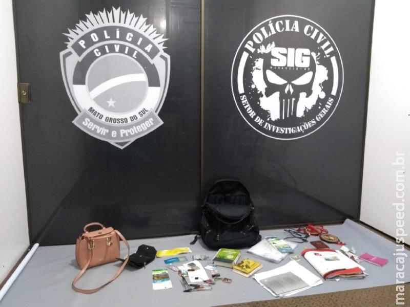 Maracaju: Polícia Civil localiza mais objetos furtados por chilenos