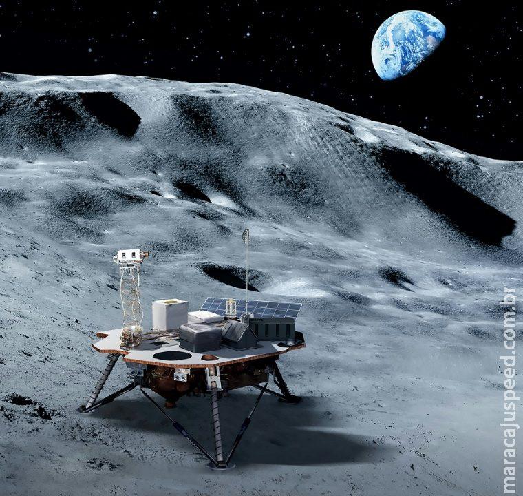Nasa prepara envio de material à Lua em 2020