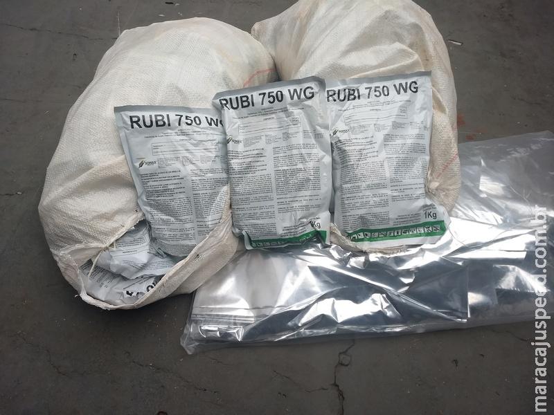 PMA autua infrator em R$ 25 mil por armazenamento ilegal de agrotóxico estrangeiro em sua residência