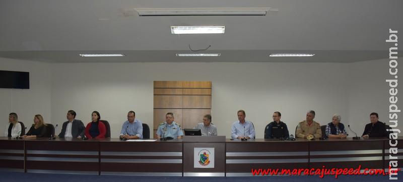 Assinatura do Contrato para instalação das câmeras de vídeo monitoramento é realizado em Maracaju