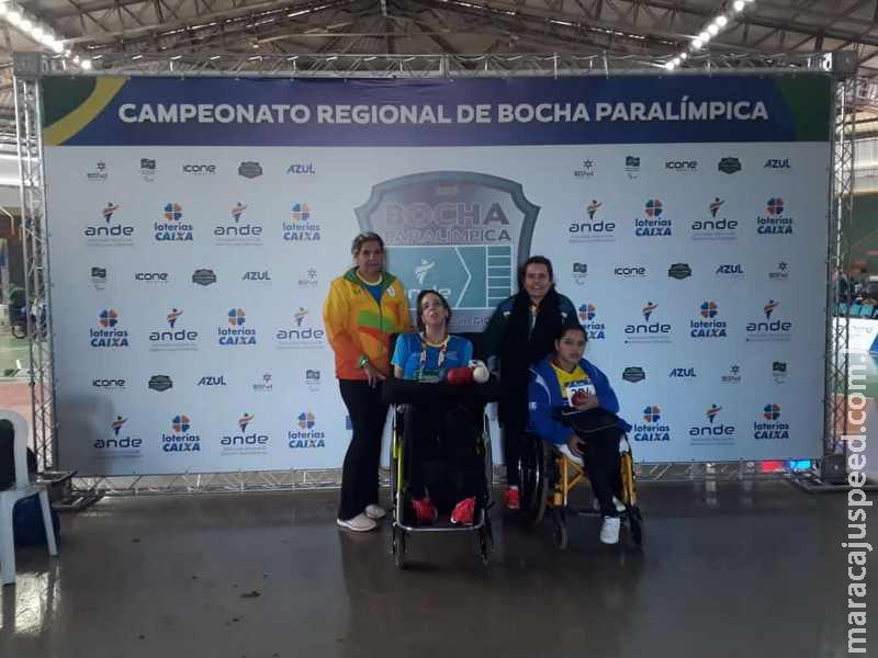 Atletas de Maracaju disputaram o Regional de Bocha Paralímpica em MG