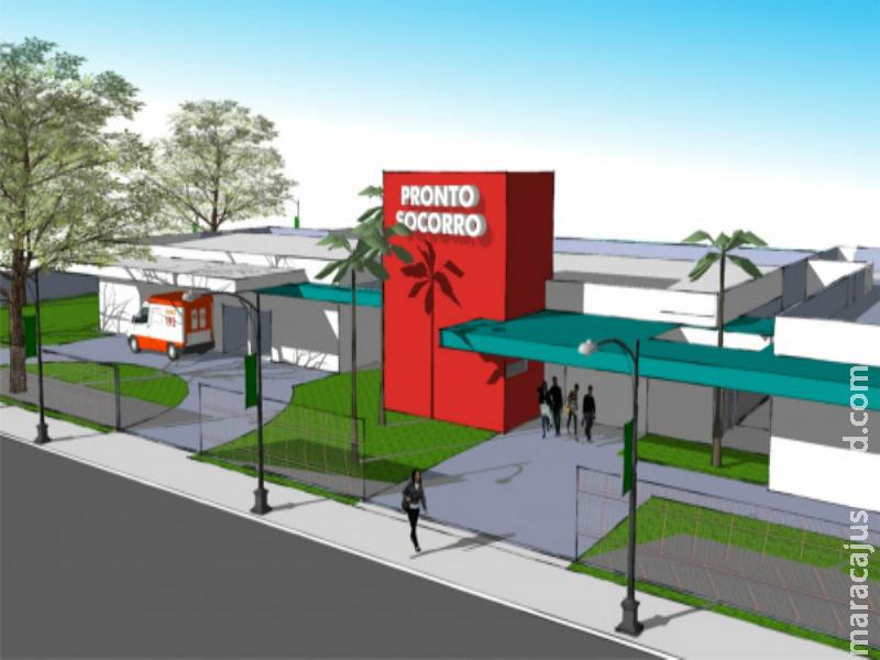 Prefeitura de Maracaju recebe mais um repasse para ampliação de unidade hospitalar