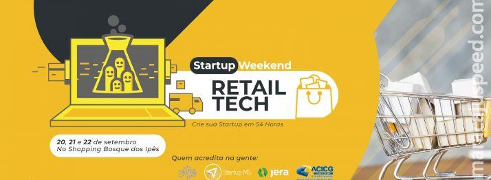 Campo Grande receberá seu primeiro Startup Weekend Retail Tech em Setembro