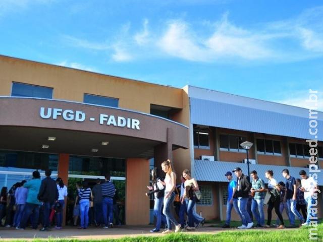 Com 982 vagas, UFGD abre inscrições para o vestibular 2020