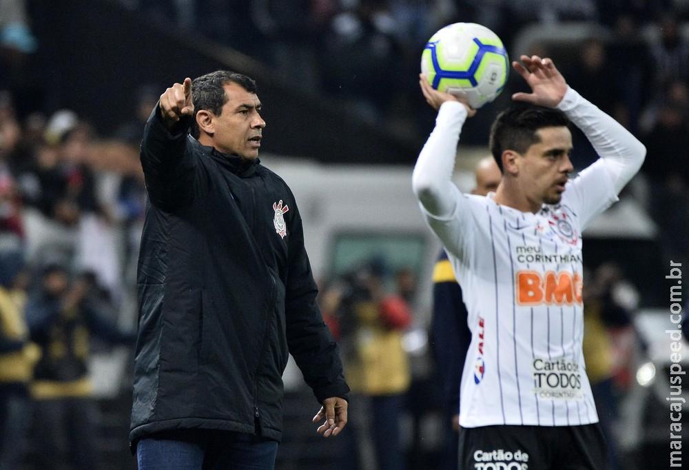 Corinthians garante empate contra o Palmeiras por 1 a 1