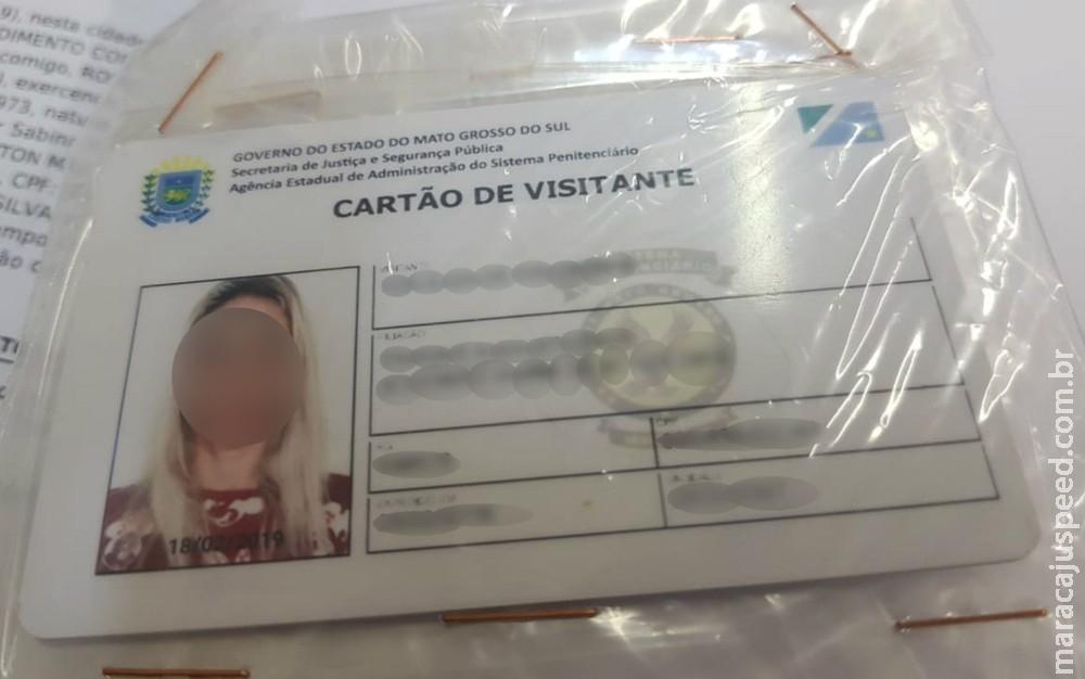 Dupla é investigada por falsificar carteira de visita no presídio: