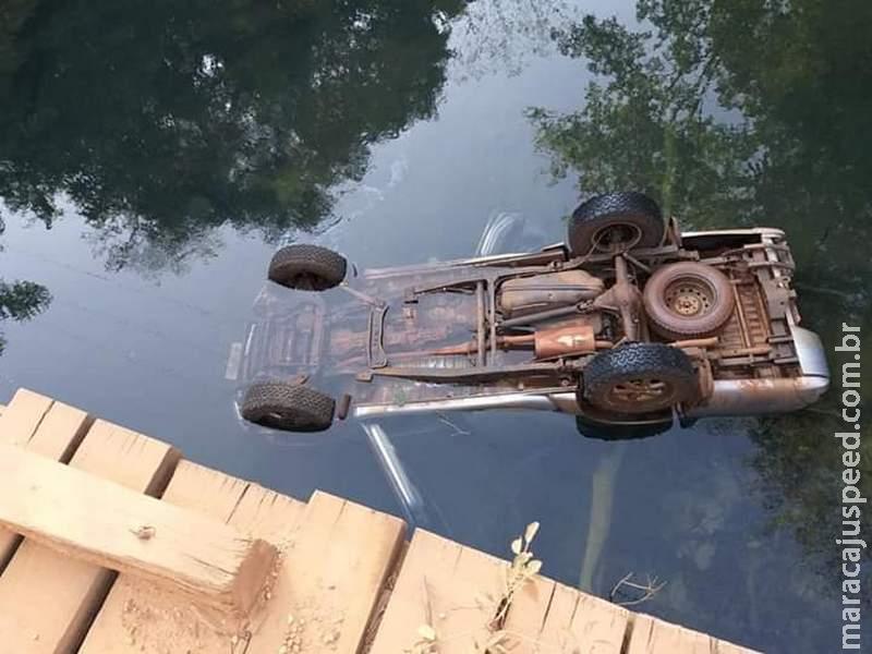 Maracaju: Homem sofre acidente em ponte e vem a óbito em Bonito MS