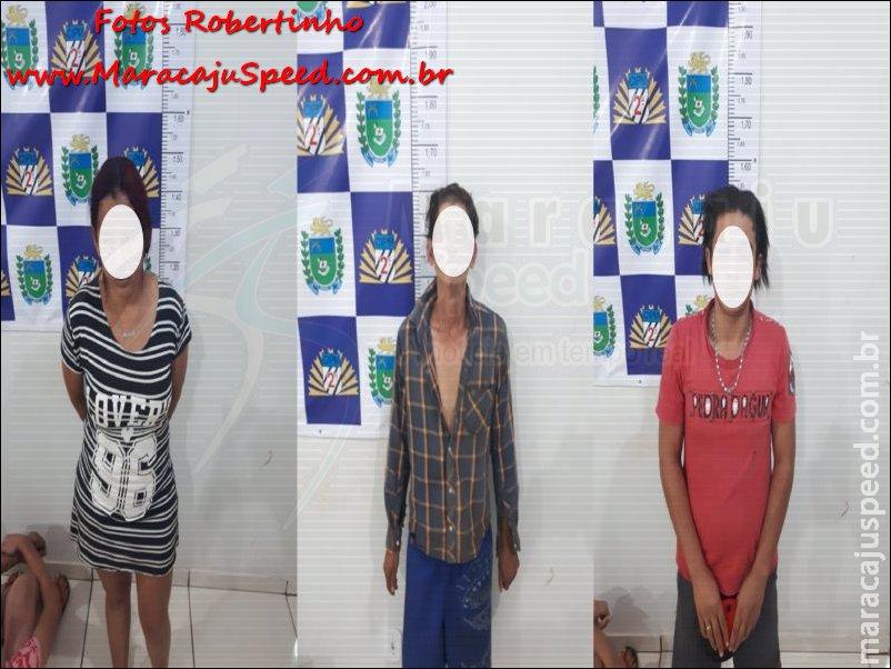 """Maracaju: Polícia Militar prende autor de furto, fecha """"Boca de Fumo"""" e prende em flagrante casal por """"Tráfico de Drogas e Receptação"""""""