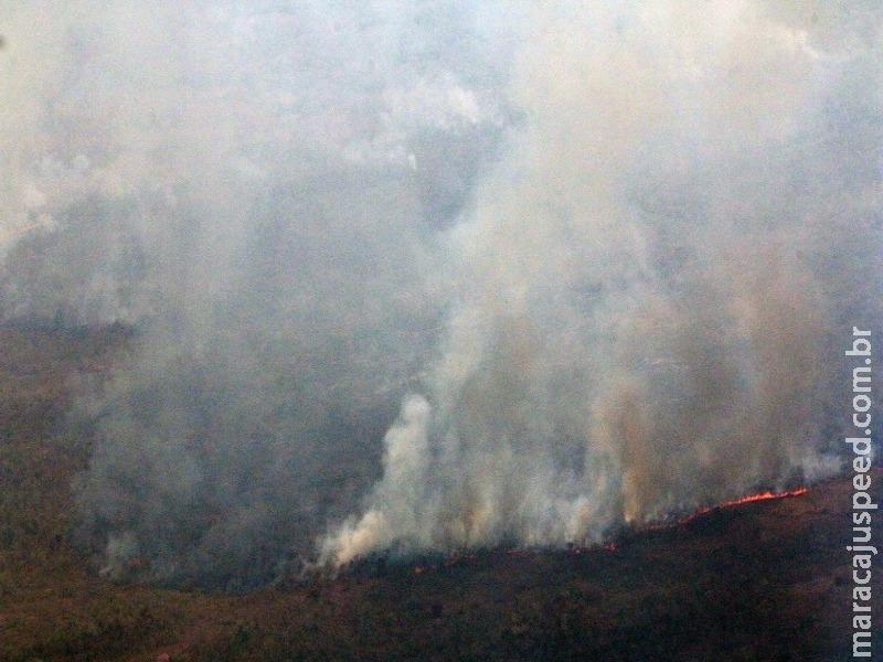 MS cria Sala de Situação Integrada para controle e combate de queimadas