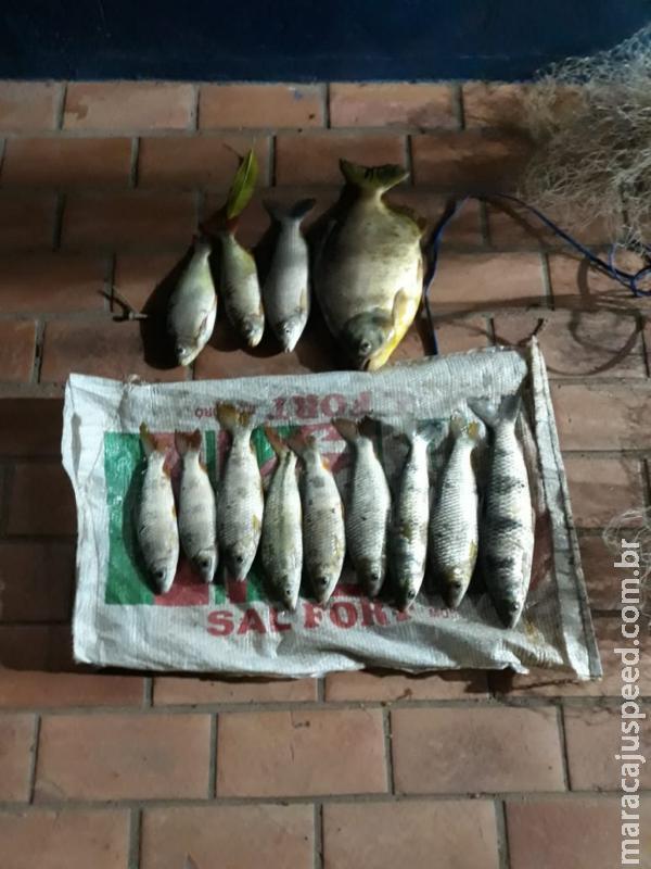 PMA prende e autua dois pescadores em R$ 4 mil por pesca predatória