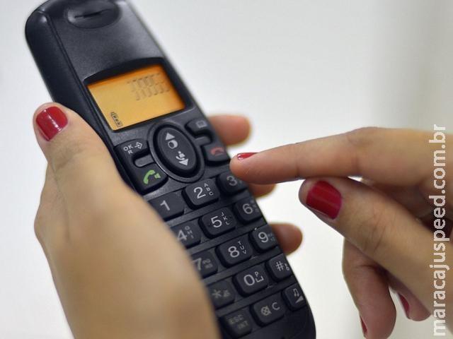 Telefonia fixa perde 53,9 mil assinantes em 3 anos em MS, calcula Anatel