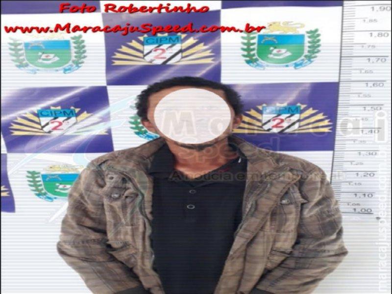 Distrito Vista Alegre: Homem morre após receber facada no peito. PM prende autor do crime próximo a região central de Maracaju