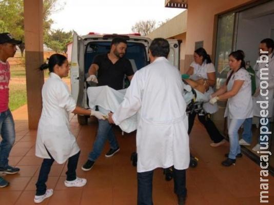 Homem morre em hospital após levar golpe de faca no peito