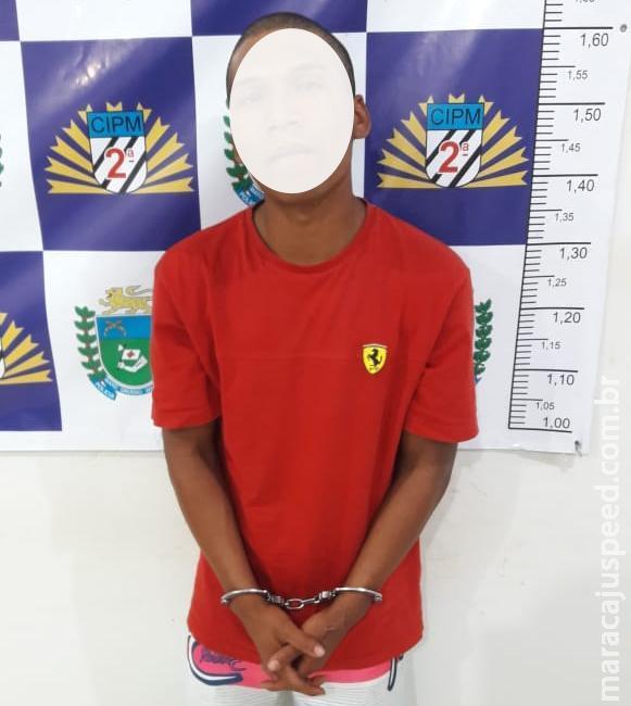 """Maracaju: Autor com """"Mandado de Prisão"""" diz a policiais """"deixa eu fugir, me dá uma nova oportunidade"""""""