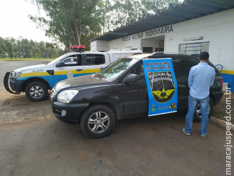 PMRv recupera veículo blindado roubado em São Paulo