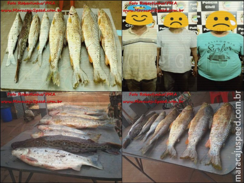 Polícia Militar Ambiental de Dourados autua pescador em R$ 3,6 mil por captura e transporte de pescado ilegal em Maracaju