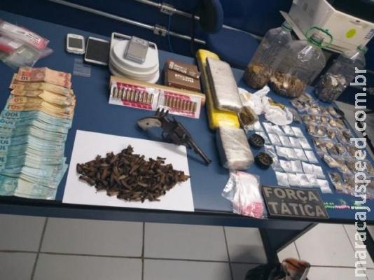Traficante suspeito de abastecer bares do Centro é preso escondido em banheiro