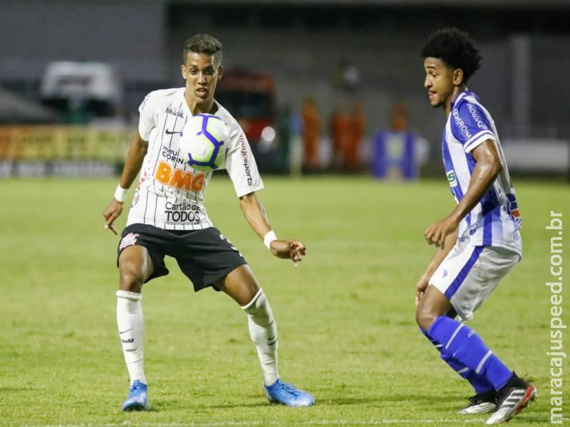 Corinthians perde por 2 a 1 para o CSA e cai para o sétimo lugar