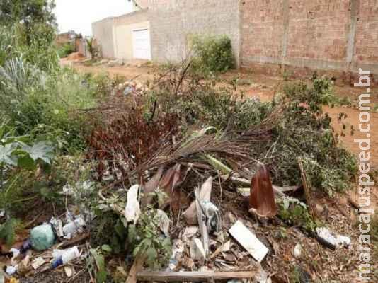 Mais de 200 donos de terrenos irregulares são multados em Campo Grande