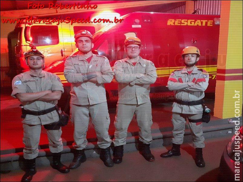 Maracaju: Bombeiros são acionados para atender ocorrência de suicídio, e em ação rápida e eficiente salvam vida de homem