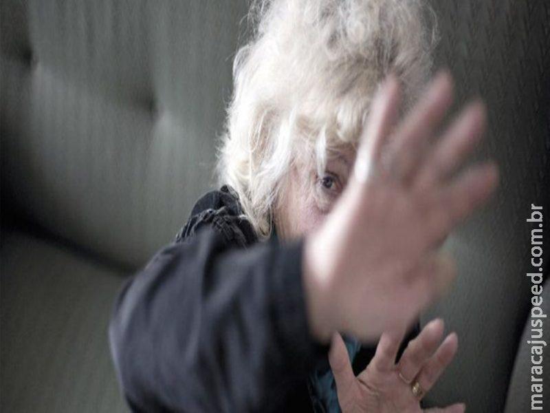 Maracaju: Filho ameaça matar sua mãe de 69 anos de idade a paulada