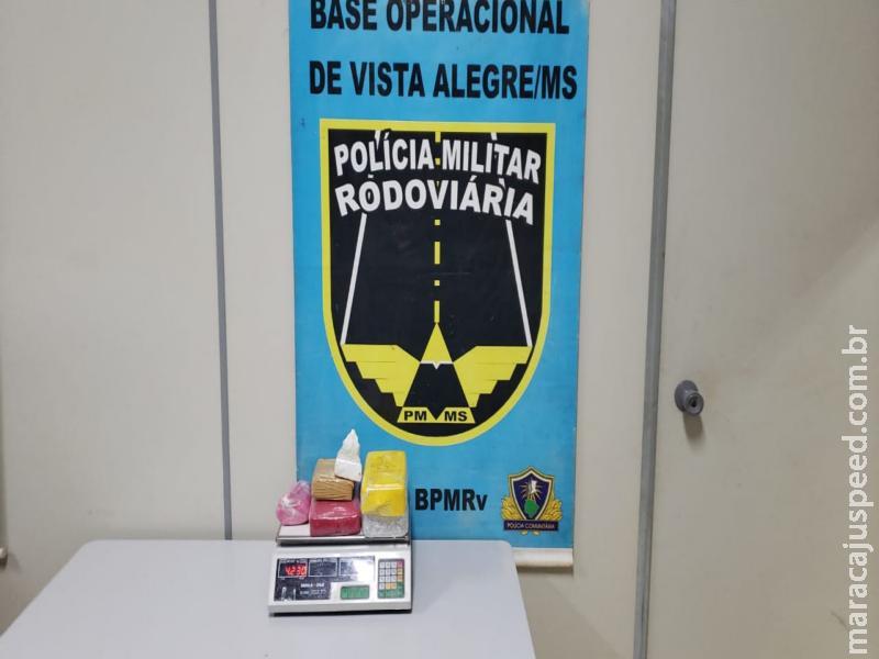 Maracaju - Operação Hórus/MS: Polícia Militar Rodoviária apreende cocaína que seguia para Campo Grande