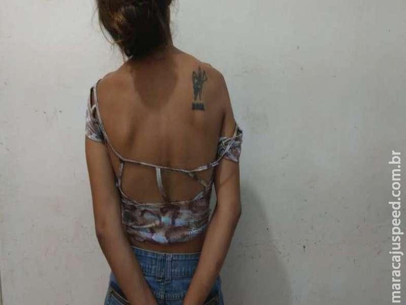 Mulher é presa acusada de furto no Parque das Nações I