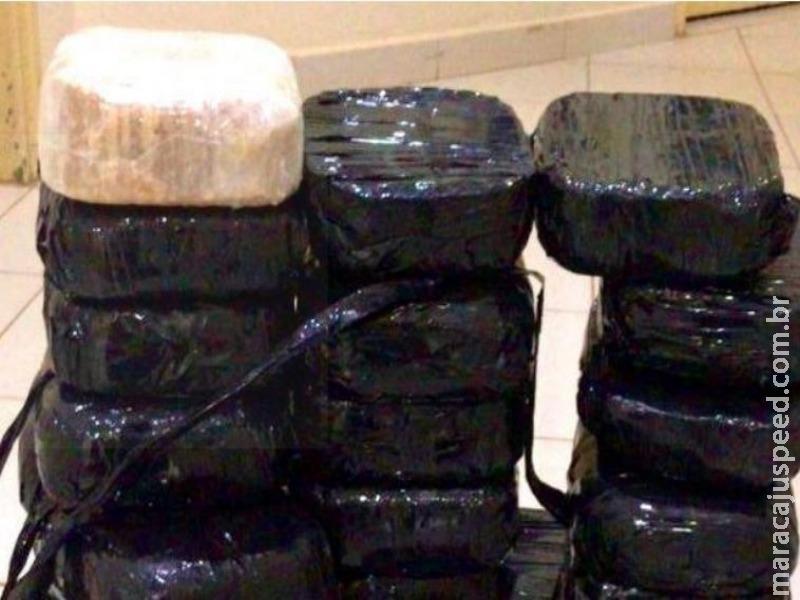PF prende economista e corretor de imóveis com 36,7 kg de cocaína