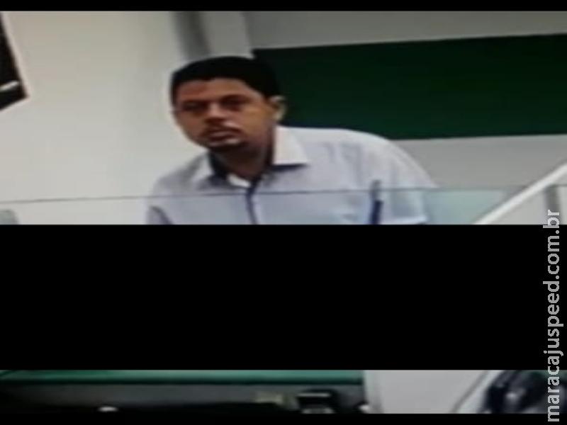 Bandidos vão a agência bancária de Maracaju e tentam aplicar golpe de estelionato