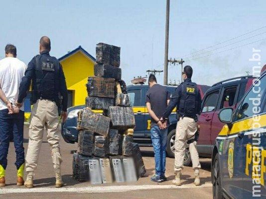 Campo-grandense é preso no feriado ao chegar em RS com meia tonelada de droga