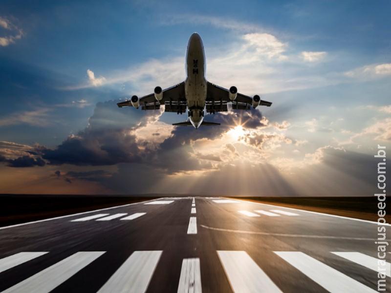 Governo quer extinguir adicional de tarifa de embarque para voos estrangeiros