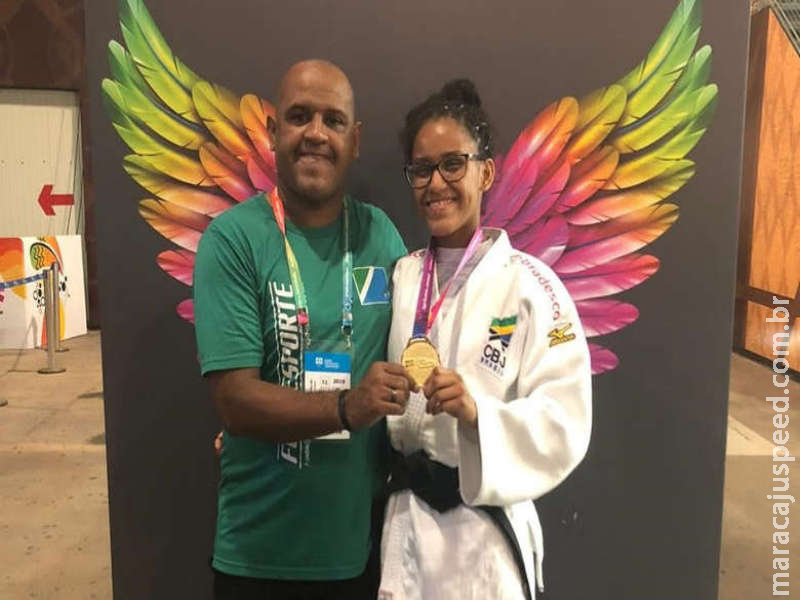 Judoca de MS conquista o tri nos Jogos Escolares