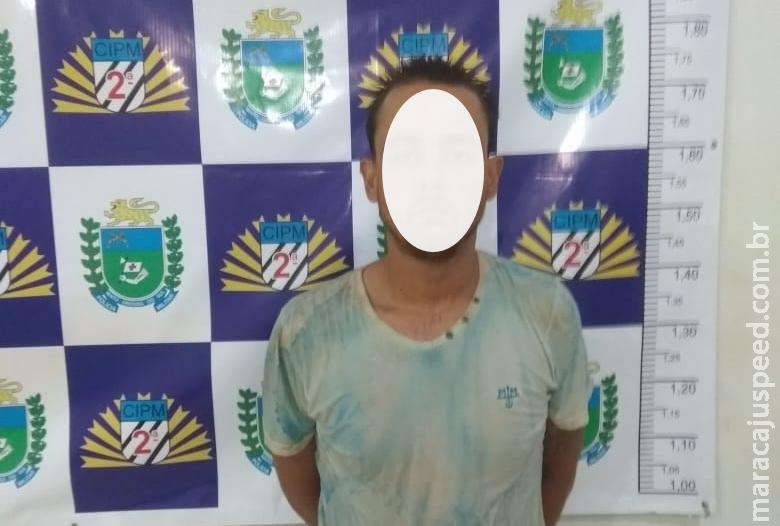Maracaju: Homem é preso em flagrante após ameaçar sua própria mãe de morte, cobrando dinheiro de herança