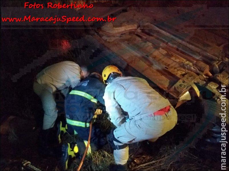 Maracaju: Operação Hórus/MS – PMRv apreende quase 1 tonelada de droga, após veículo capotar ao se evadir de abordagem policial