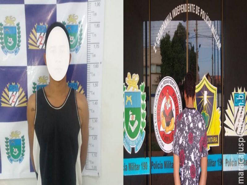 Maracaju: Polícia Militar cumpre dois mandatos de prisão em menos de 24 horas. Um dos autores mentiu seu nome na tentativa de escapar da averiguação