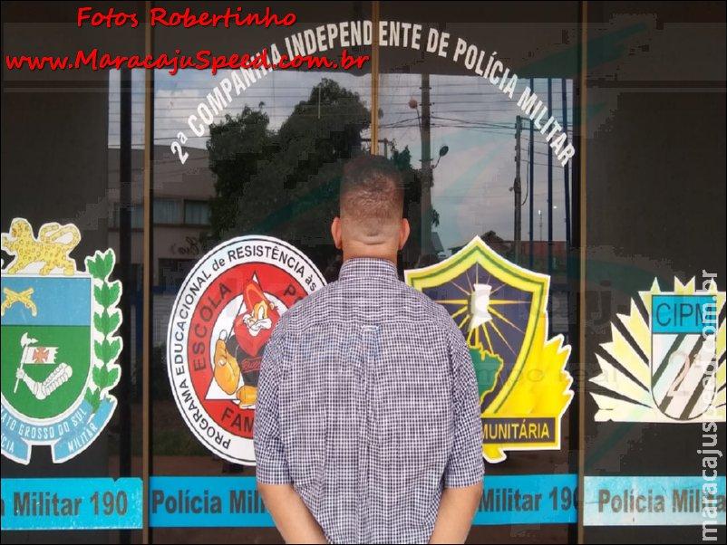 Maracaju: Polícia Militar cumpre mandado de prisão expedido pela Comarca da cidade de Jardim