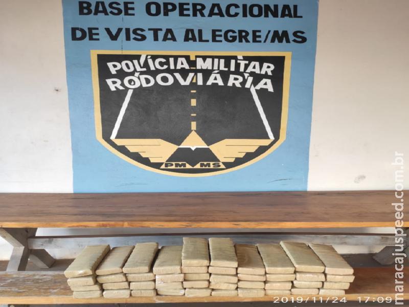 Operação Hórus/MS droga que seria levada à Rondônia é apreendida pela PMR em Maracaju