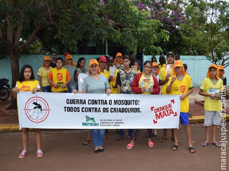 Maracaju: Campanha de combate ao mosquito da Dengue levou orientação a comunidade
