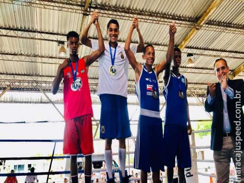 MS conquista 3° Lugar no Brasileiro de Boxe