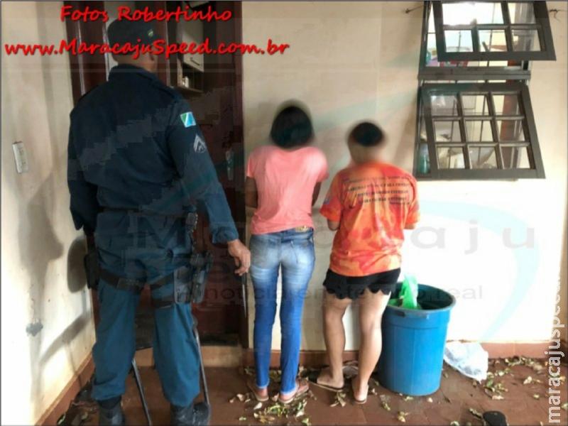 Maracaju: Crianças de 11 e 13 anos do sexo feminino arrombam residência para cometer furto