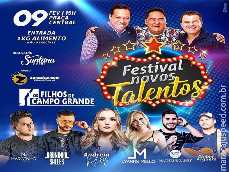 Maracaju: Festival Novos Talentos se aproxima em sua pré-seleção