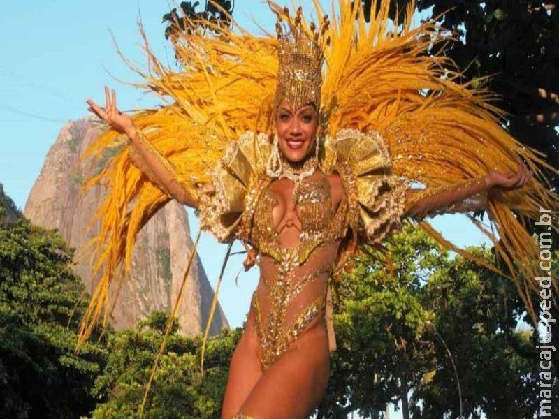 Musa do Carnaval quebra braço depois de confusão no Rio