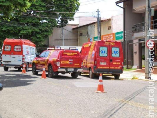 Homem morre com tiro no peito em escritório de advocacia na Rua Goiás