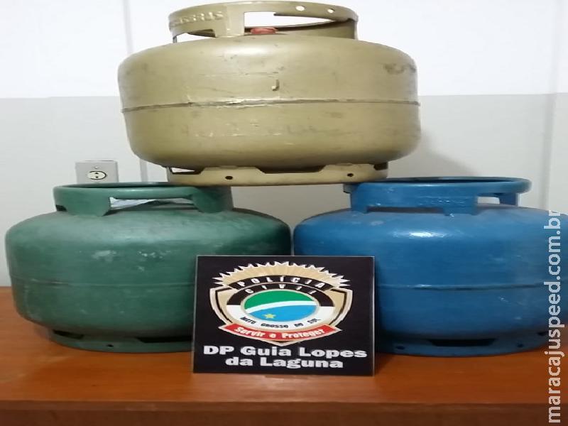 Polícia Civil de Guia Lopes elucida furtos e recupera objetos