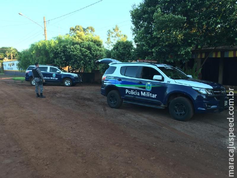 """Polícia Militar e Polícia Civil de Maracaju, com o apoio da PMRv e Canil do 3º BPM de Dourados realizam """"Operação Vista Alegre Segura"""""""