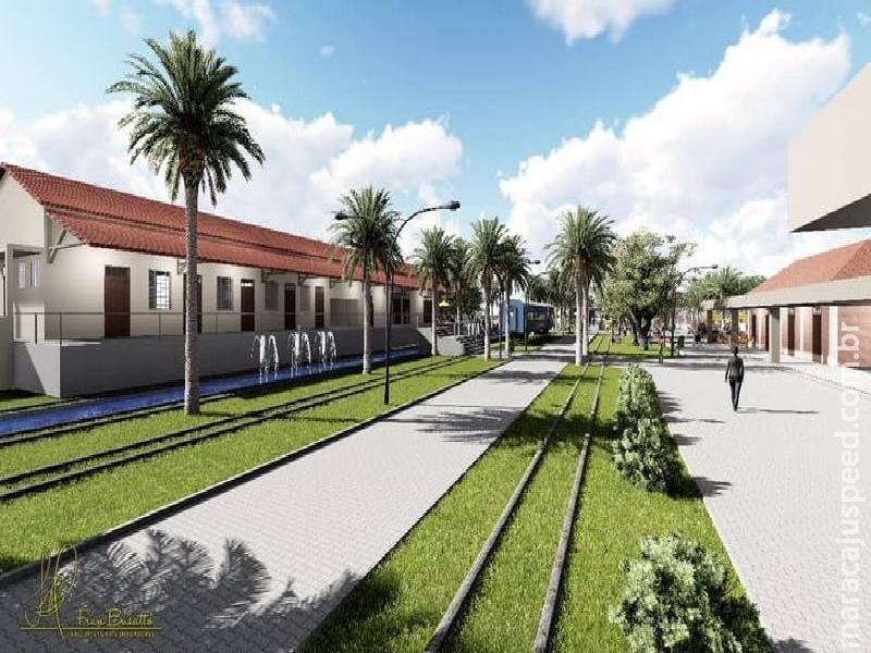 Prefeitura Municipal recebe repasse no valor de 110 mil reais, de um total de 2,2 milhões para Reforma e Revitalização do Museu Ferroviário do Município de Maracaju
