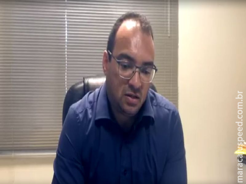 Dr. Estéfano Rocha, Promotor de Justiça da Comarca de Maracaju – Esclarece regras ao comércio e ao cidadão para contenção do Covid-19